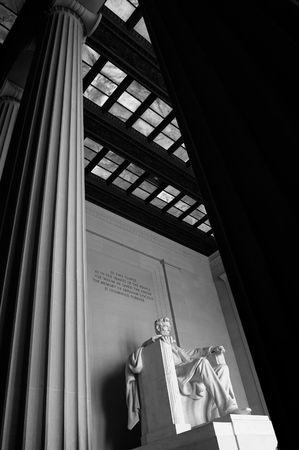Lincoln Memorial en Washington DC  Foto de archivo - 2840289