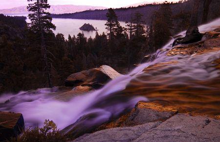 Eagle Falls Emerald Bay at Lake Tahoe photo