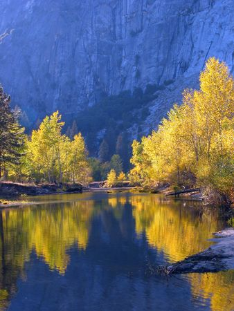 Fall color at Yosemite National Park, USA