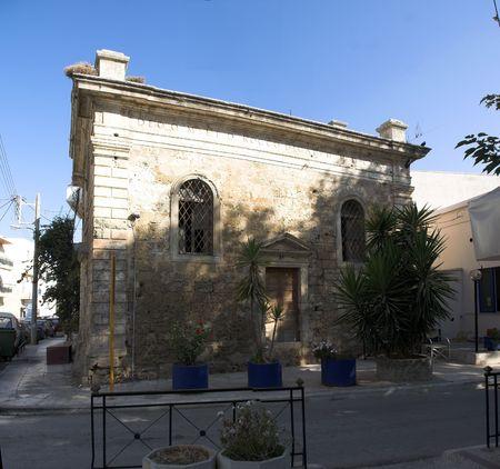 kreta: old centre of Chania - crete