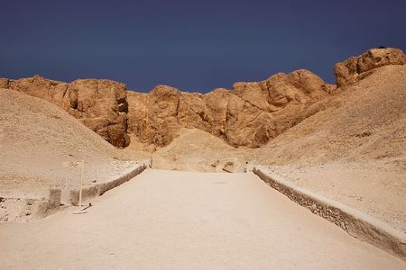 valley of kings - luxor - egypt Stock Photo - 2109696