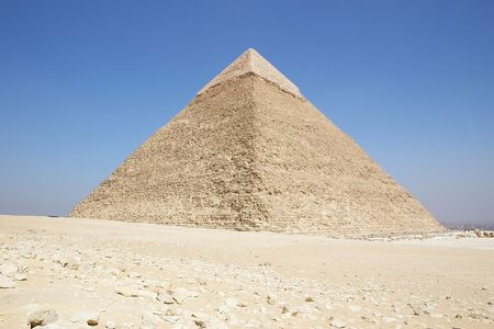Egypt - Giza pyramid of  khafre photo