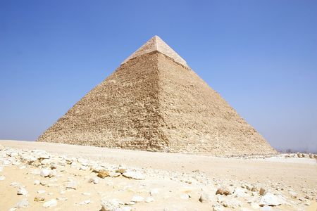 relict: Egypt - Giza pyramid of  khafre