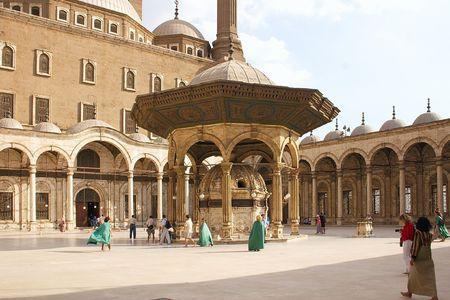 copula: Mohammad Ali (Alabaster Mosque) in Cairo, Egypt