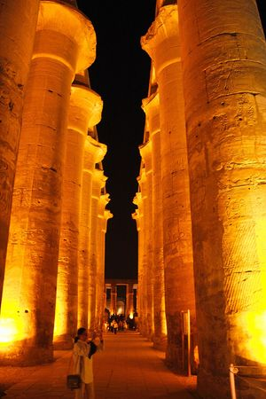 relict: Egypt - Luxor - view of temple