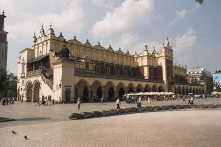 cracow: old centre of ity - Cracow - Poland - Sukiennice