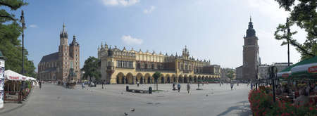 old centre of ity - Cracow - Poland - Sukiennice photo
