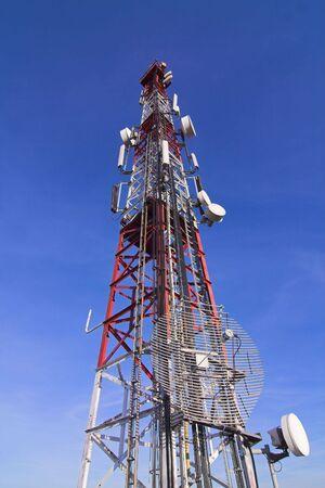telecommunication tower Stock Photo - 2528766