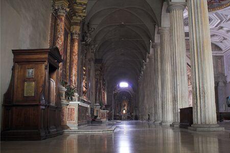 vincoli: view of san Pietro In Vincoli - Rome