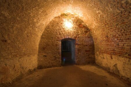 gora: underground of fortress Srebrna Gora, - klodzka - Poland Stock Photo