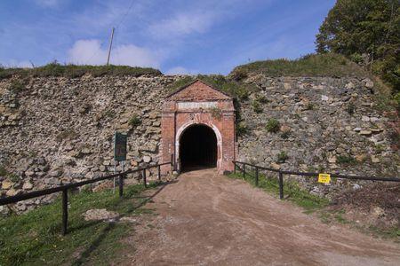 gora:  fortress Srebrna Gora - klodzka - Poland Stock Photo