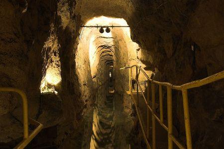 gory: Old corridoio con al vecchia miniera - Polonia - Tarnowskie categoria