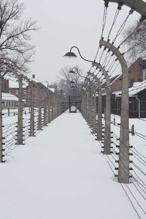 different view of konzentration lager Auschwitz from second world war Stock Photo - 3696692