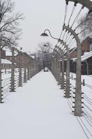 seconda guerra mondiale: punto di vista diverso di concentrazione lager di Auschwitz dalla seconda guerra mondiale