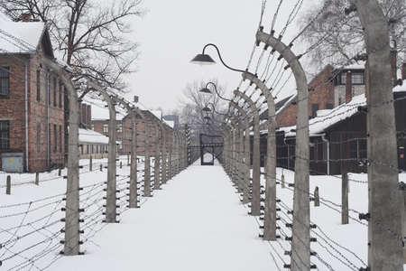 seconda guerra mondiale: diverso punto di vista della concentrazione lager di Auschwitz da seconda guerra mondiale