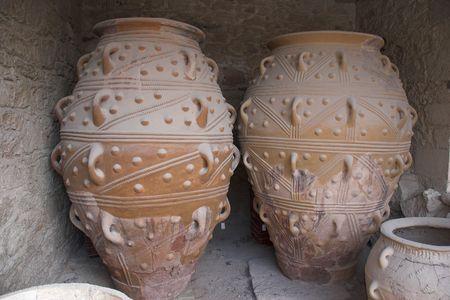 archeological area at Knossos - Crete photo
