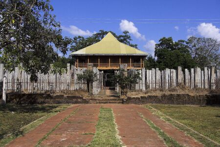 anuradhapura: Anuradhapura - view of Brazen Palace