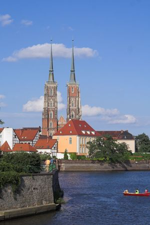 eligion: Breslau view of Cathedral Island