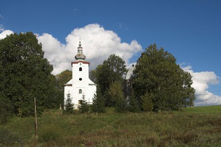 relict: Poland - view the old church Stock Photo