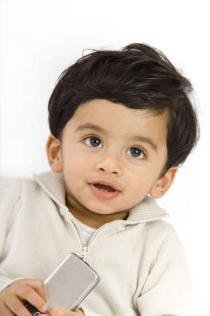 1 year old boy with indian origin Stock Photo - 6751352