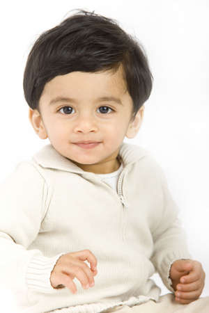 1 year old boy with indian origin
