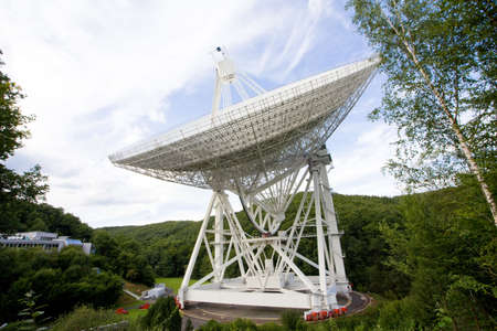 radio telescope: largest rotating radio telescope worldwide Stock Photo