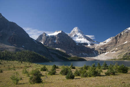 canadian rockies: mount assiniboine in canadian rockies