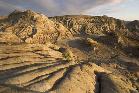 badlands landscape alberta praerie