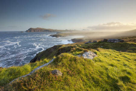 natural irish west coast dingle peninsula Stock Photo