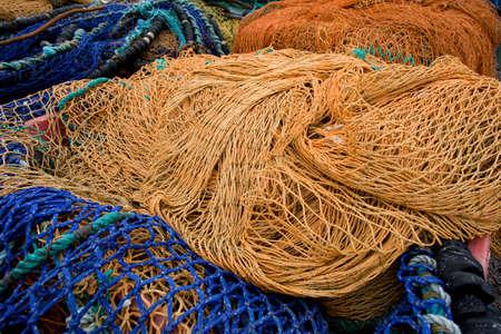redes de pesca: redes de pesca colorido