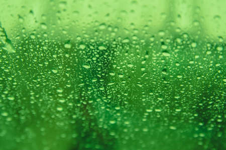 rains: Abstract green blur background with rains