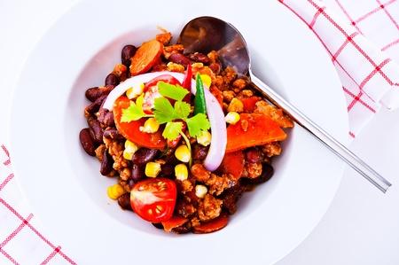 Mexican speciality - Chili con carne photo