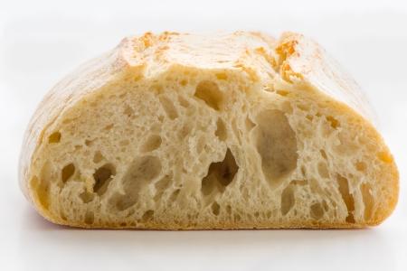 非常に大規模な被写し界深度のチャバタのパン 写真素材