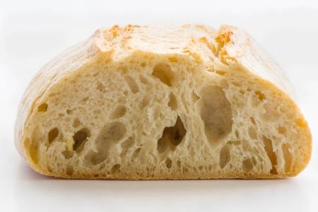 ciabatta bread with very large depth of field Stock Photo