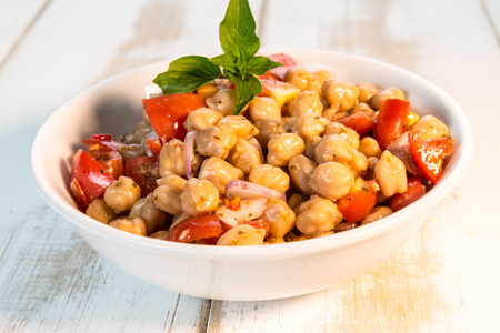 ingredient: chickpea salad with ingredient