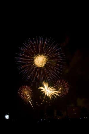 Fireworks Exploding photo