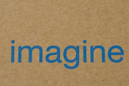 Imagine Word on the Cardboard photo