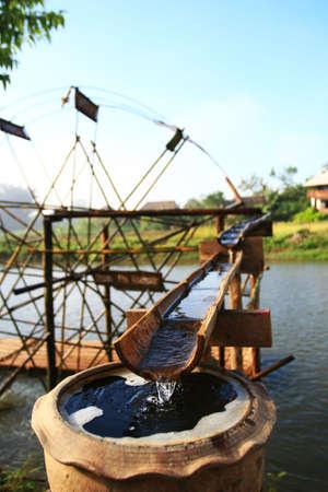 Bamboo Water Wheel Stock Photo - 7542252