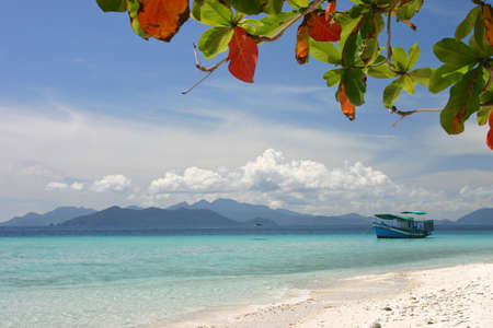 Boat in the Beach, Thailand Stock Photo - 7542244