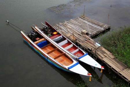 Boat on river  photo