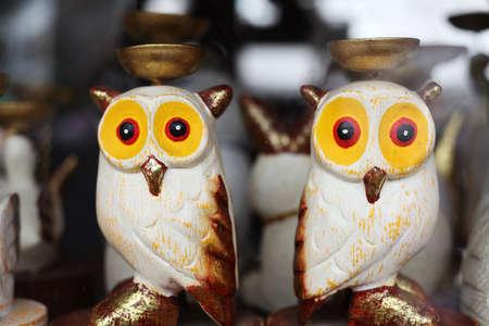 Wooden Owl Stock Photo - 7936443