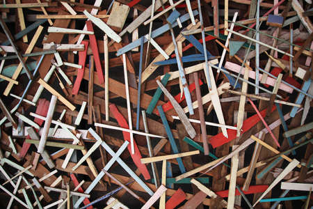 Old Wood Chips Background Stock Photo - 8111174