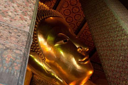 transcendental: Golden Statue of Reclining Buddha
