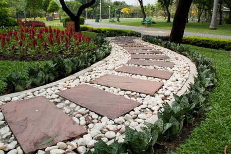 Garden Stone Path Stock Photo - 8921351