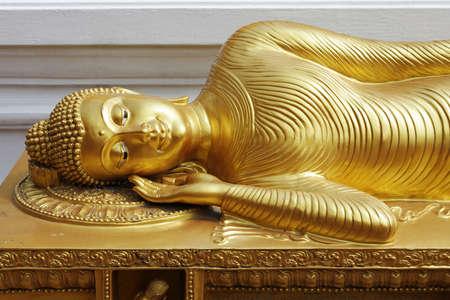 reclining: Reclining Buddha in Thailand