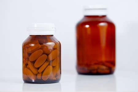 Medicine bottles photo