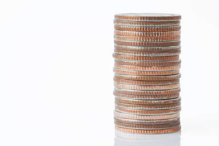 Stack of coins Stock Photo - 14158043