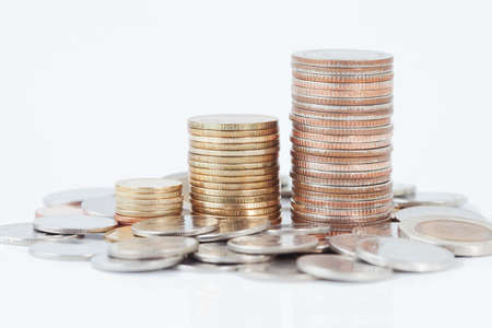 Stack of coins Stock Photo - 14158045