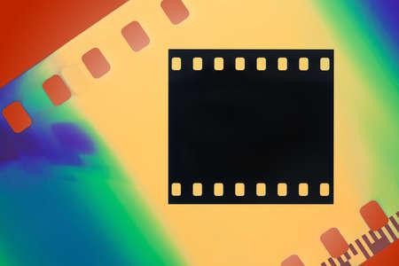 Color film photo