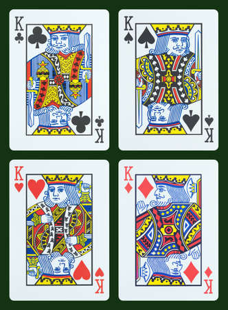 king of hearts: Playing cards - King